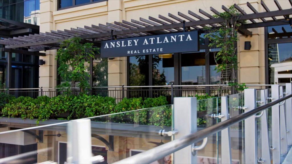 Front entrance of ansley atlanta real estate office in Atlanta Georgia